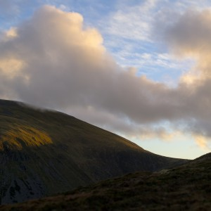 Sunlight on Slieve Donard by Oisin Patenall